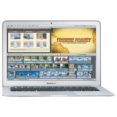 "Apple MacBook Air Intel Core 2 Duo 2GB RAM 80 GB HDD 13.3"" Notebook Refurb $599.99 ($1,199.01 Savings) Free Shipping | eSalesInfo.com"