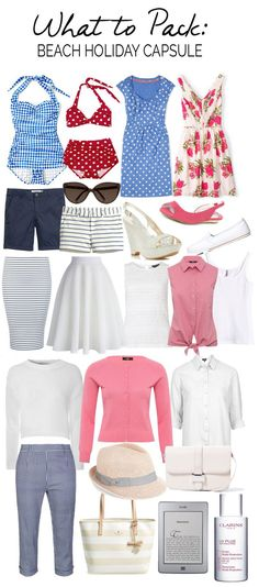 Packing List for a Beach Holiday: what to pack for a vacation