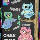 Included in this adorable, Chalkboard Doodle Owl Set is all you need for your chalkboard products for the season!  You'll receive 3 doodle owls in ...