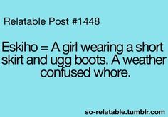 I think of this every time I see a girl in uggs