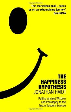 Kindle is hungry.    The Happiness Hypothesis: Putting Ancient Wisdom to the Test of Modern Science