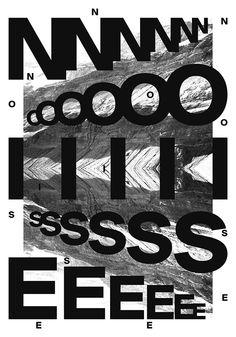 Noise poster on Behance