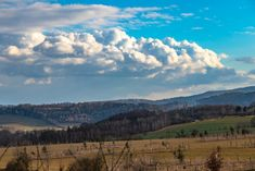 spring photos on walk - panorama Spring Photos, Clouds, Mountains, Nature, Photography, Travel, Outdoor, Fotografie, Voyage