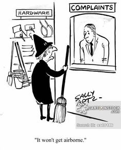 Silly #broomstick!