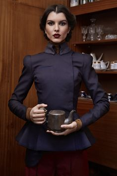 KNAPP The Post-war collection A/W 12/13 by Antonia Yordanova, via Behance... lord the details, love this.