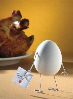 Arte con huevos :-)