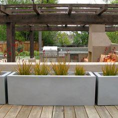 Concrete Planters Design, Pictures, Remodel, Decor and Ideas