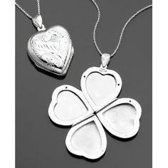 Lucky Heart Locket for Mom.. from 11 Fashionable Mother's Day Gift Ideas: Unique Necklaces And Jewelry Mom Will Love!