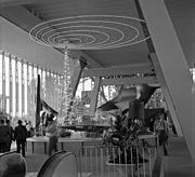 Expo 58 Luxembourg pavilion interior