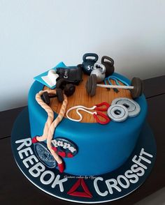 Gym Addict Tarta CrossfitCrossfit Cake21st Birthday