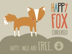 Lauryn Green: Introducing Happy Fox, a free font!