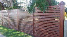 Wooden fencing ideas