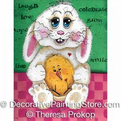 CLICK IMAGE TO PURCHASE-Happy Easter Friends ePacket - Theresa Prokop - PDF DOWNLOAD