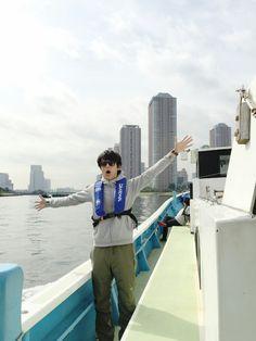 """Taishi Nakagawa """"I went fishing"""", Tokyo Bay"""""""
