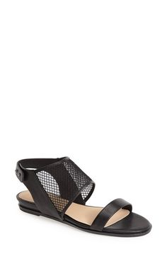 Joe's 'Rochelle' Leather & Mesh Sandal (Women) available at #Nordstrom