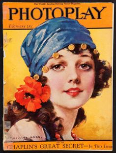 Pretty Lila Lee on the cover with artwork by J. Knowles Hare was a Wampas Baby Star in 1922