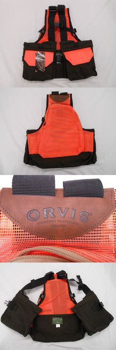 Vests 178080: Orvis Waxed Cotton Hunting Shooting Vest Heavy Duty Med / Large 40-44 Nwt Bird -> BUY IT NOW ONLY: $69 on eBay!