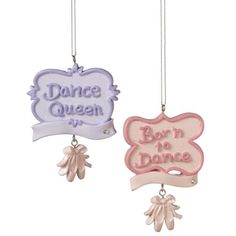 Midwest CBK Personalizable Dance Christmas Ornament