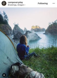 Camping spot in Brookings Oregon