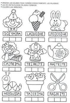 actividades para preescolar   pintar y jugar
