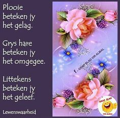 ♡ Afrikaanse Quotes, Inspirational Qoutes, Christian Encouragement, Strong Quotes, Bible Quotes, Prayers, Happy Birthday, Language, Mornings