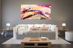 Large Abstract wall art,Original Abstract wall art,large art on canvas,xl abstract painting,abstract wall art Large Abstract Wall Art, Colorful Wall Art, Large Painting, Painting Abstract, Canvas Wall Decor, Home Decor Wall Art, Bedroom Decor, Extra Large Wall Art, Large Art