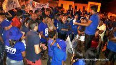 Santa Filomena Atual: Adelvan de Campo faz carreata no povoado mostrando...