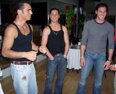 #Flashback photo of Tony, Val & Maks (pic source: Men of Dancing With The Stars' FB page)