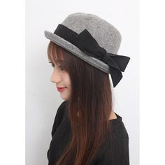 Grey Jazz Wool Hat