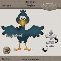 Billy Bird 1 Template