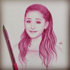 drawing ariana grande - Google zoeken