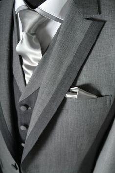 Fashion, Men, Men's Formal Wear, Grey, Suit