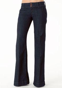 Piper's Closet Double Button Stretch Trouser Jean