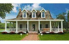 Casa americana de tres dormitorios y 301 metros cuadrados Planos de Casas Gratis | dePlanos.Com