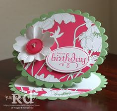 Another beautiful easel card!