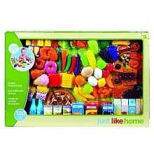 All the food and fixin's your little one will need to prepare yummy pretend… Play Food Set, Pretend Food, Little Girl Toys, Toys For Girls, All Toys, Toys R Us, Kids Store, Toy Store, Hello Kitty Bedroom