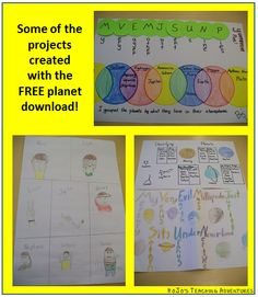 Classroom Freebies: Planet Projects using Multiple Intelligences!