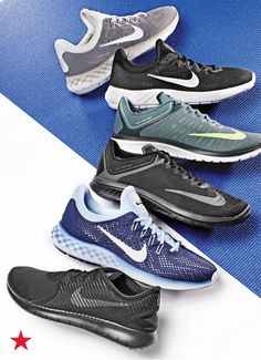 Runners, take note: these Nike sneakers take comfort to the next level with a dual-density foam, giving you a running shoe that's soft and light. Shop these and more from Nike at macys.com.