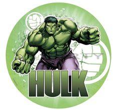 The Hulk Edible Cake Topper