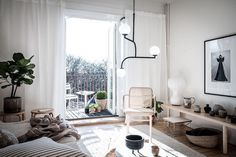 my scandinavian home: A Small Swedish Space Bathed in Sunlight