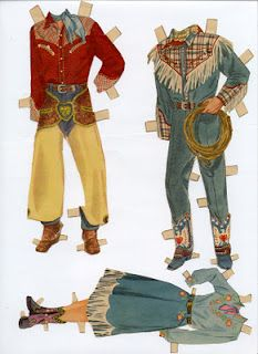 (¯`'•.ೋRoy Rogers & Dale Evans Clothes 3