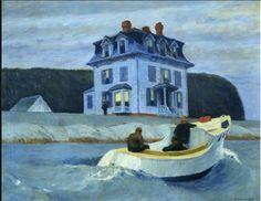 Edward Hopper - The Bootleggers, 1925