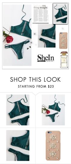 """NEW SHEIN CONTEST"" by majagirls ❤ liked on Polyvore featuring MICHAEL Michael Kors"