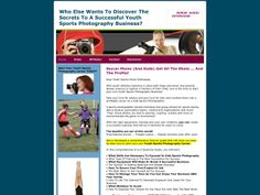 ① Start A Kids Sports Photography Business - http://www.vnulab.be/lab-review/%e2%91%a0-start-a-kids-sports-photography-business