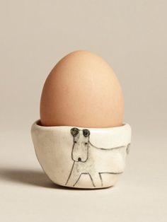 Dog Egg Cup