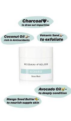 Rodan And Fields Canada, My Rodan And Fields, Business Inspiration, Inspiration Quotes, Business Ideas, Rodan Fields Skin Care, Rodan And Fields Consultant, Acne Breakout, Charcoal Mask