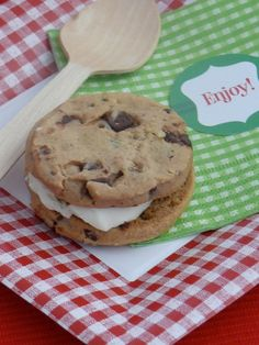 Double layer choc chip cookie - double decadence! Looks so good