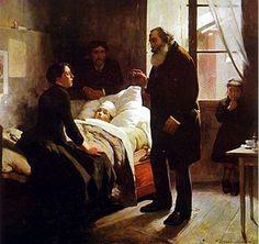 El niño enfermo. Arturo Michelena. 1896. Localización: colección particular. https://painthealth.wordpress.com/2016/03/16/el-nino-enfermo-6/