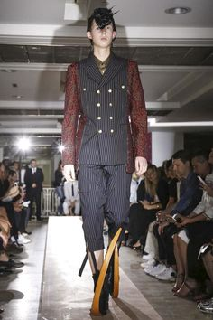 Comme des Garcons Homme Plus Menswear Spring Summer 2015 Paris