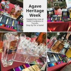 Stop by for a tasting! Agave Heritage Week is happening now at Hotel Congress in Tucson.